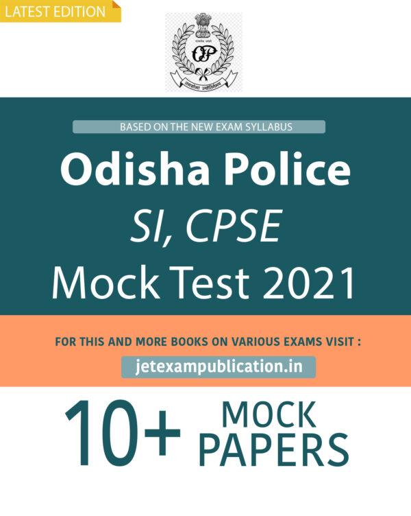 """Odisha Police SI, CPSE Mock Test 2021"""