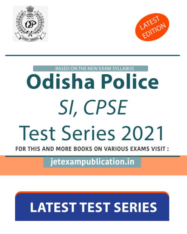 """Odisha Police SI, CPSE Test Series 2021"""
