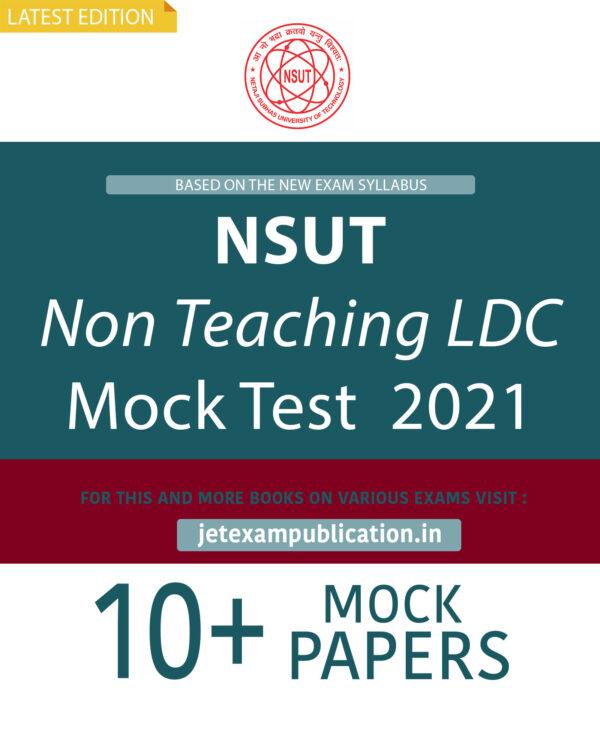 """NSUT Non Teaching LDC Mock Test 2021"""