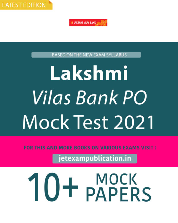 Lakshmi Vilas Bank PO Mock Test 2021