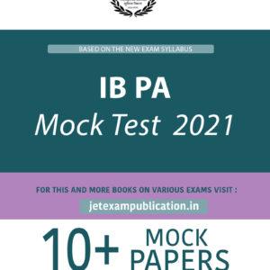 IB PA Mock Test 2021