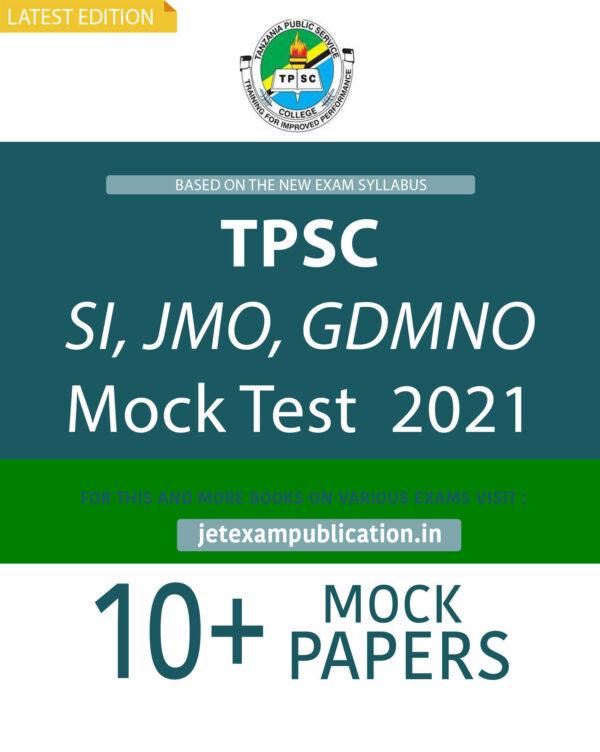 TPSC SI, JMO, GDMNO Mock Test 2021