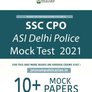 SSC CPO ASI Delhi Police Mock Test 2021