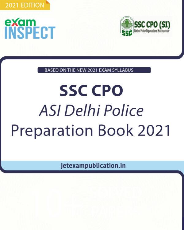 """""""SSC CPO ASI Delhi Police Preparation Book 2021"""""""