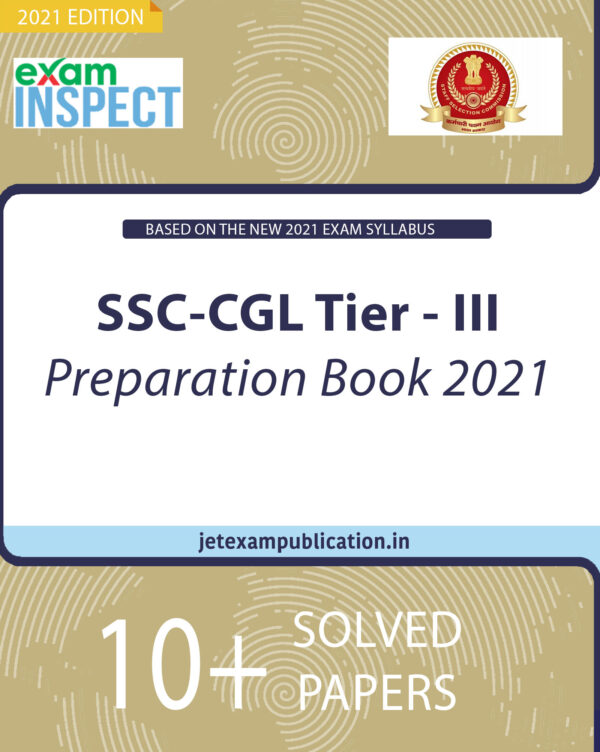 SSC-CGL Tier - III Preparation Book 2021