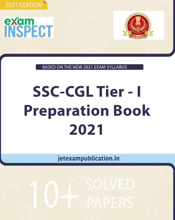 SSC-CGL Tier - I Preparation Book 2021