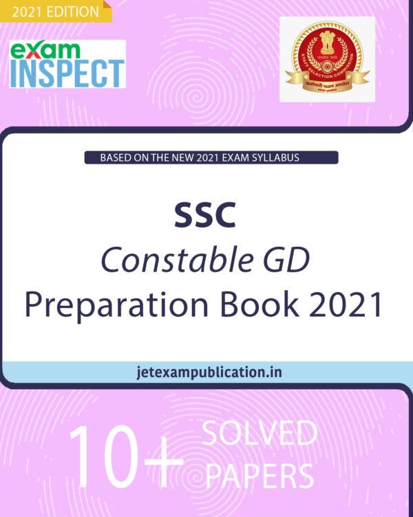"""SSC Constable GD Preparation Book 2021"""