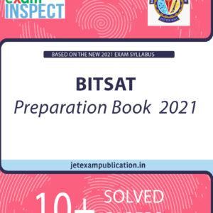 BITSAT Preparation Book 2021