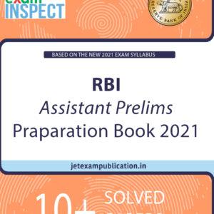 """RBI Assistant Prelims Preparation Book 2021"""