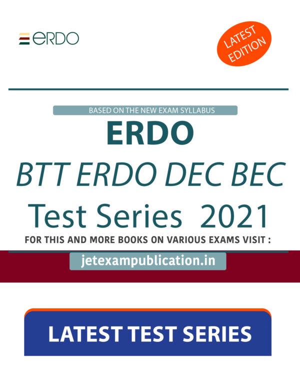 """""""ERDO BTT ERDO DEC BEC Test Series 2021"""""""