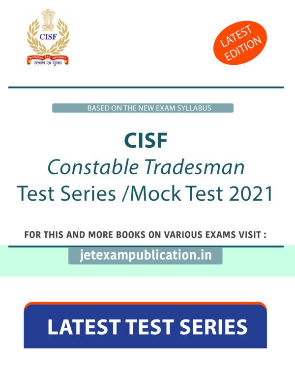 CISF Constable Tradesman Test Series 2021
