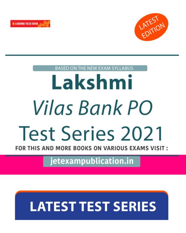 Lakshmi Vilas Bank PO Test Series 2021