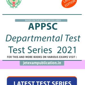 APPSC Departmental Test Test Series 2021