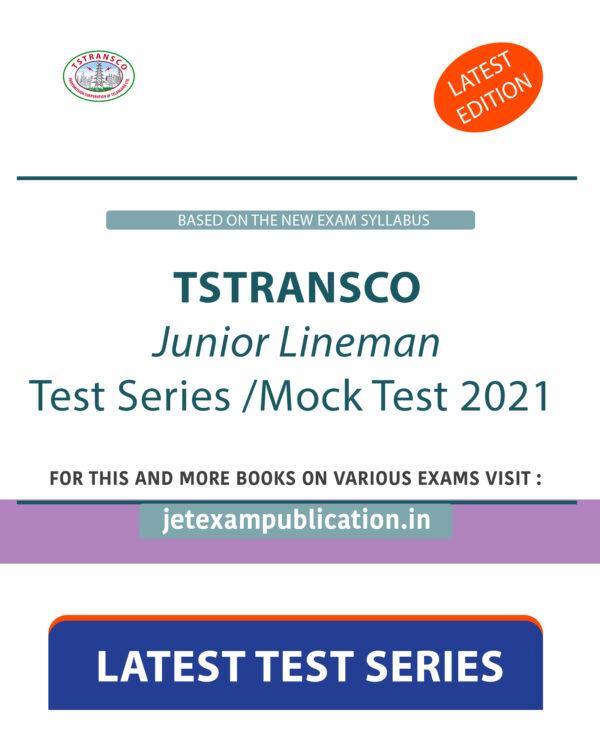 TSTRANSCO Junior Lineman Test Series 2021