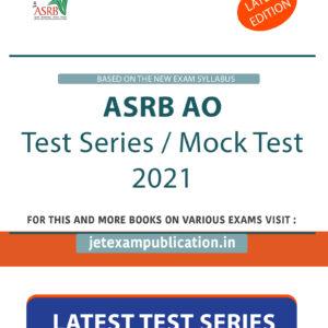 ASRB AO Test Series 2021