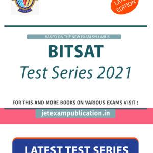 BITSAT Test Series 2021