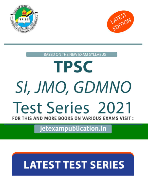 TPSC SI, JMO, GDMNO Test Series 2021