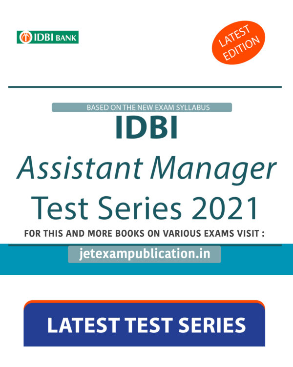 """""""IDBI Assistant Manager Test Series 2021"""""""