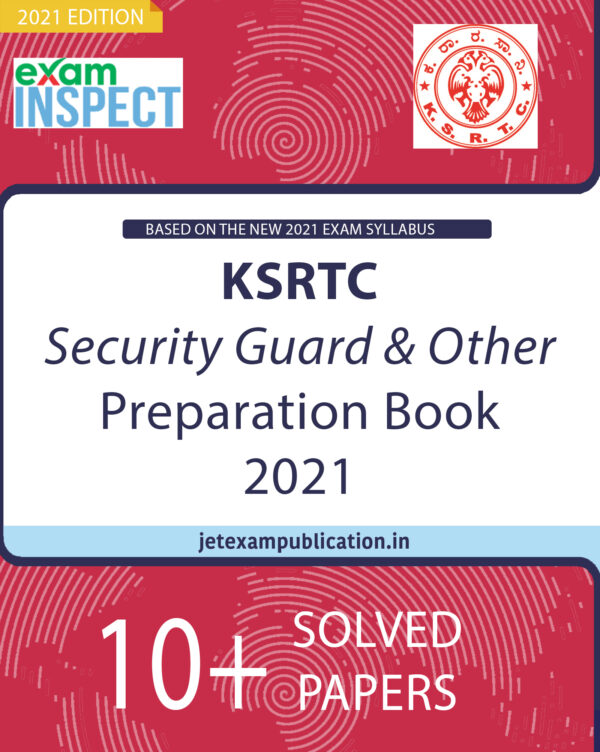 """""""KSRTC Security Guard & Other Preparation Book 2021"""""""