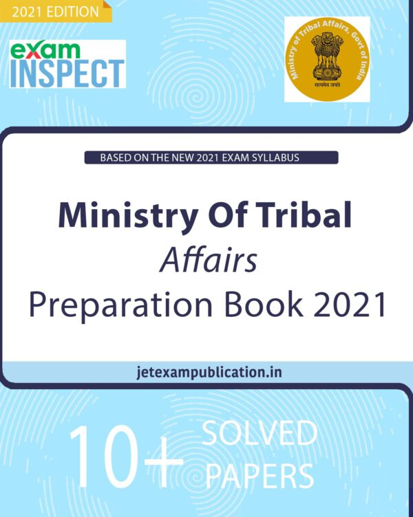 """""""Ministry Of Tribal Affairs Preparation Book 2021"""""""